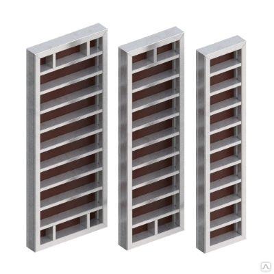 Алюминиевый линейный опалубочный щит, шириной 0,7-1,2 м бу