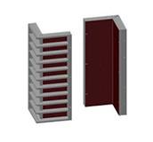 Алюминиевый угловой опалубочный щит 3100x600